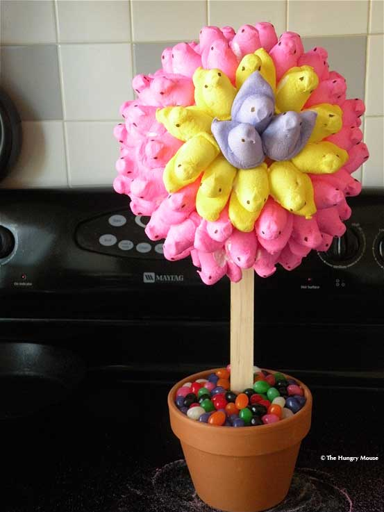 How to make an Easter centerpiece from Peeps