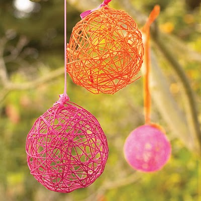 decorating ideas for easter yarn eggs