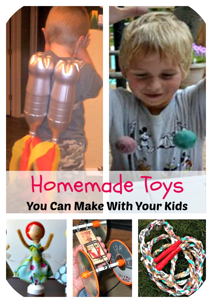 5 fun homemade toys you can make with your kids